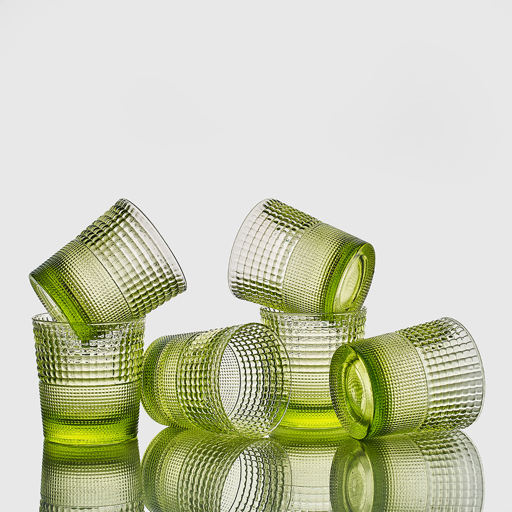 Set 6 vasos Pikes Acid Green