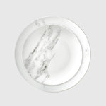 Plato llano Marble Collection