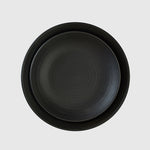 Plato llano Smoke Black