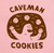 Caveman Cookie T-Shirt - Pink