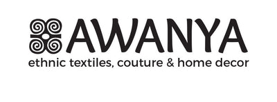 Awanya brand logo ethnic textiles couture and home decor