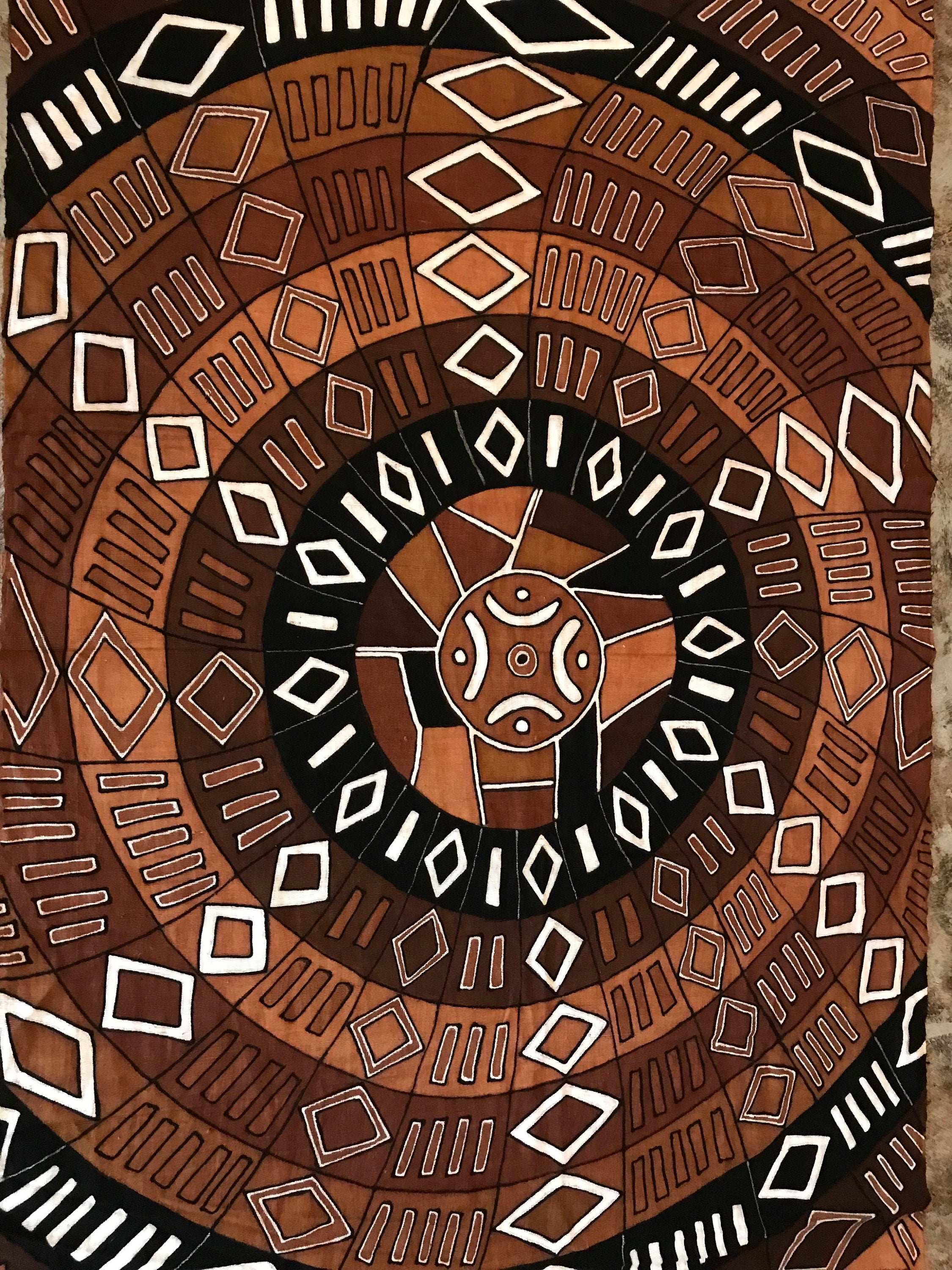 Mudcloth Throw, African Mudcloth Fabric, Mudcloth Interior Design, Mudcloth Mandala, Afrocentric Home Decor