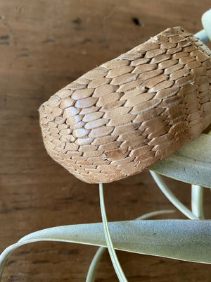 Woven Leather Bangle, Leather Bracelet, African Leatherwork