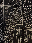 Mudcloth Throw, Mudcloth Fabric, Black and White Mudcloth, Bogolan Mudcloth, Mudcloth Home Decor