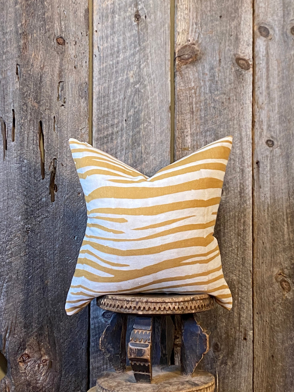 Mudcloth Pillow, Mudcloth Pillow Cover, Zebra  Mudcloth