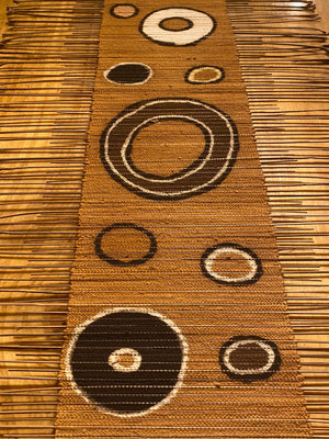 Woven Wall Art, Table Runner, Textile Home Decor, Mudcloth Table Runner