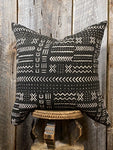 Mudcloth Throw Pillow, Mudcloth Euro Pillow, Mudcloth Home Decor, African Mudcloth