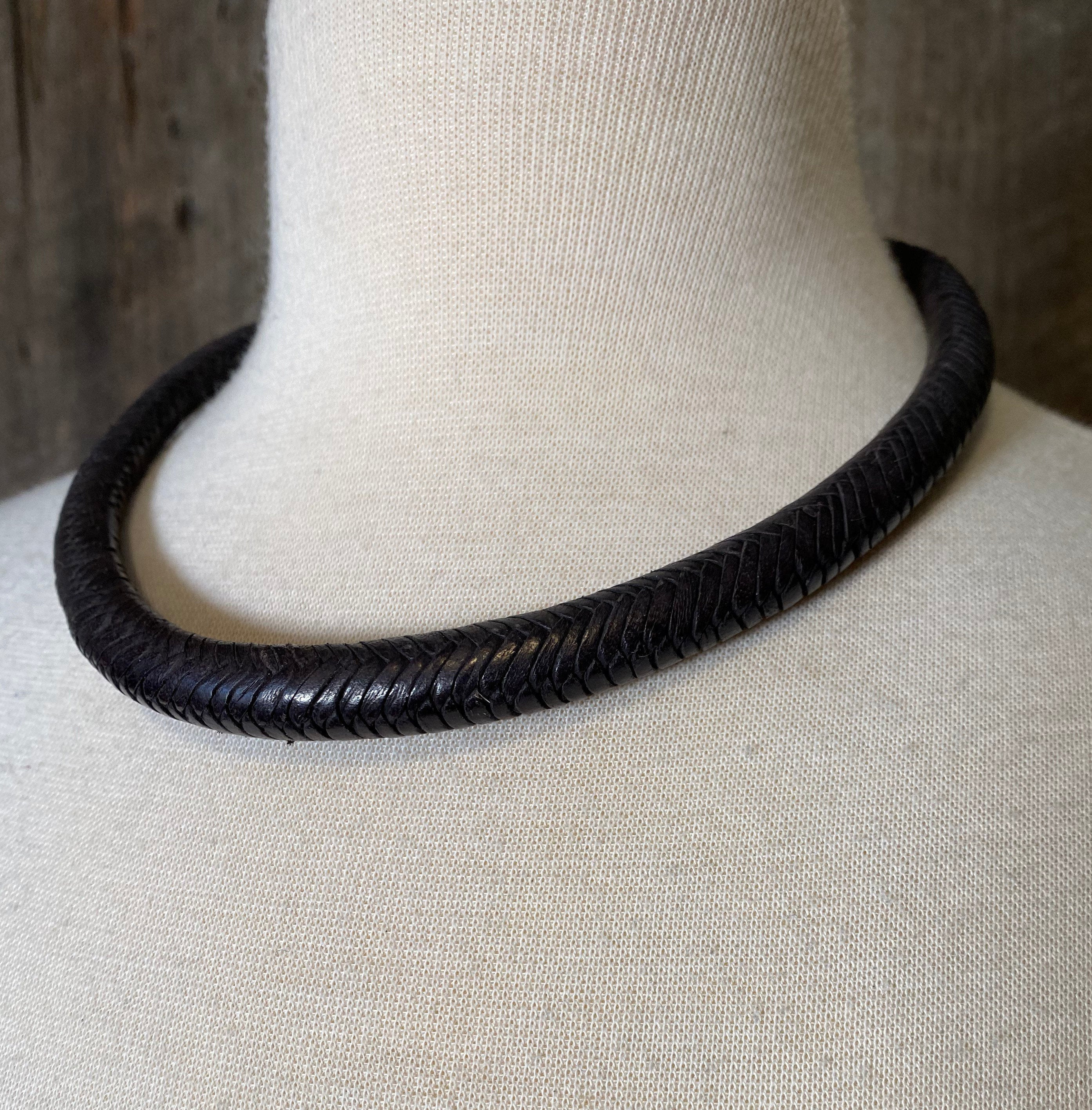 Tuareg Leather Necklace, Tuareg Necklace