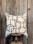 Mudcloth Throw Pillow Modern