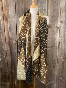 Mudcloth Scarf Olive