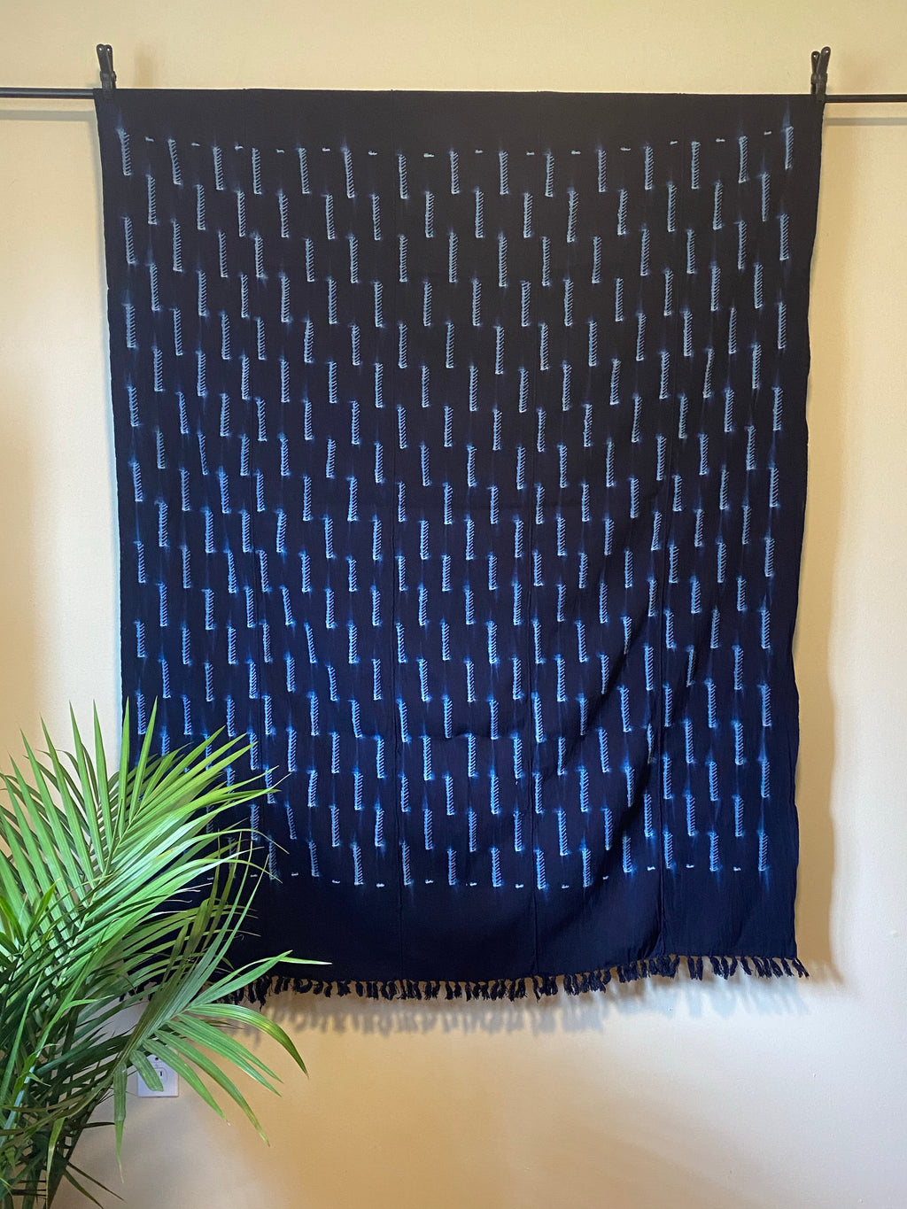 Dogon Indigo Throw