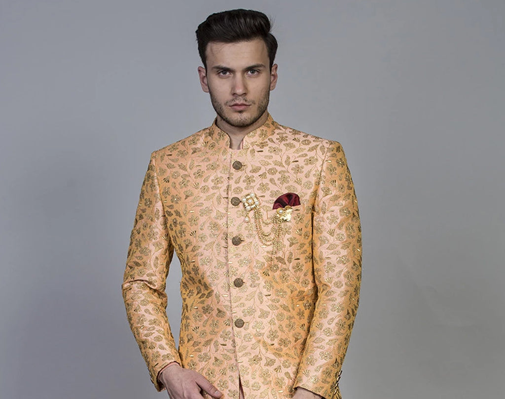 This Holi, Classic Bundi kurta set for men, best looks for the Holi festival