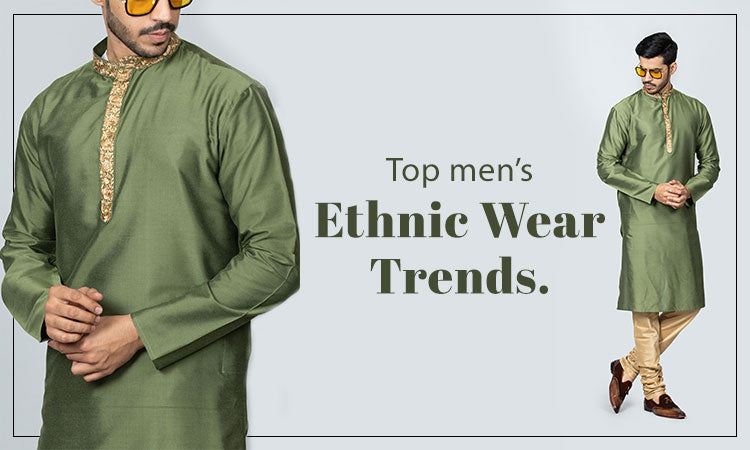 Top mens ethnic wear trends