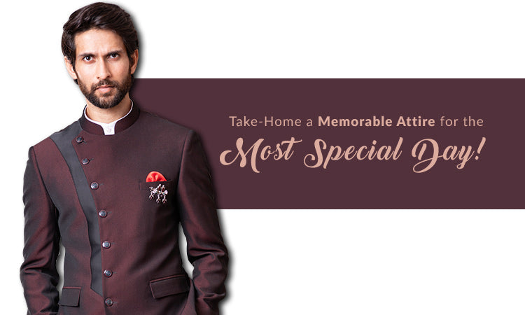 Take Home a Memorable Attire for the Most Special Day!