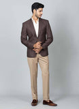 Brown Two Button Blazer