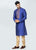 Embroidered Blue Kurta Set
