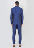 Designer Blue suit