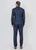 Navy Bandhgala Suit