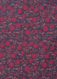 Floral Print Jacquard Indo Western Achkan
