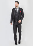 Black designer suit