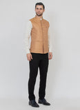 Perfect Gold Raw silk jacket