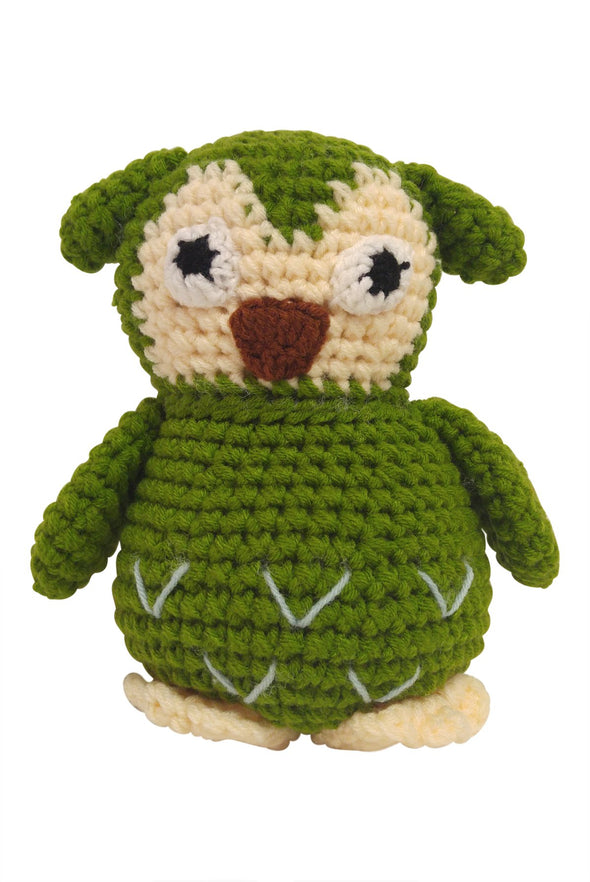 """My Animal Friends"" Knit Stuffie"