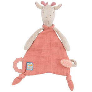 Moulin Roty Cuddle Toy with Pacifier Ring