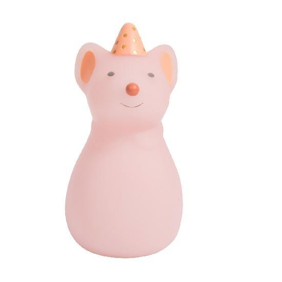 Pink Mouse Night Light