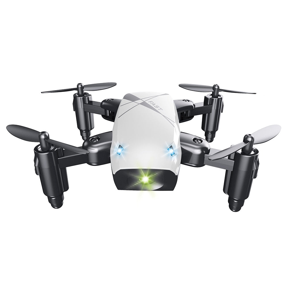 Mini Pocket Quadcopter Drone S9HW with Altitude Hold 0.3MP HD Camera 6-Axis Foldable WiFi
