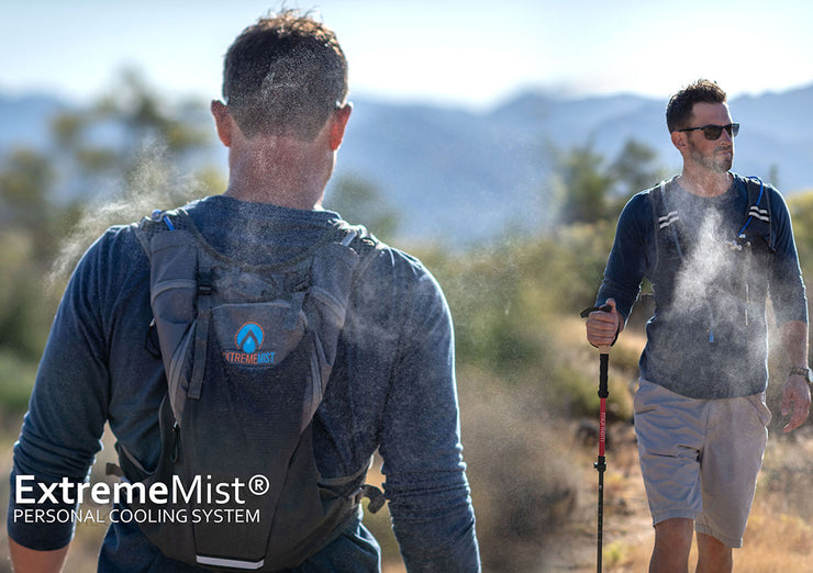 Misting & Drinking Hydration Backpack