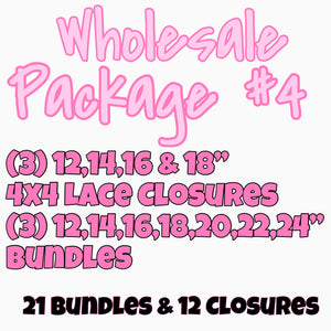 WHOLESALE PACKAGE #4