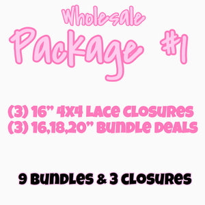 WHOLESALE PACKAGE #1