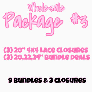 WHOLESALE PACKAGE #3