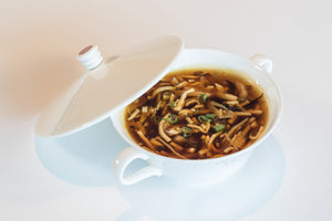 Imperial hot and sour seafood soup