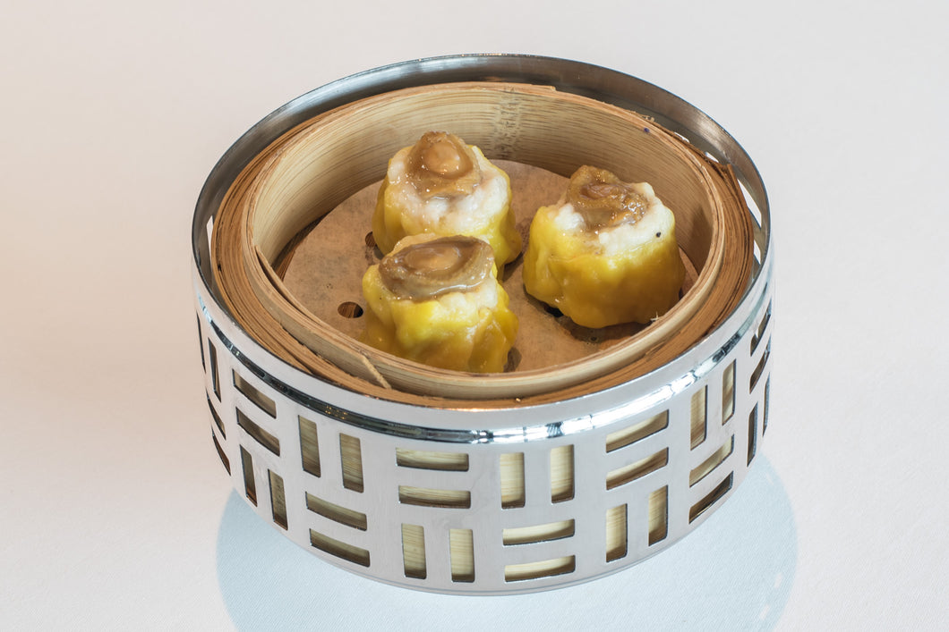 Steamed pork siew mai