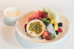 Tropical Fruits and Yoghurt (Available from 7:30 to 10:30am)