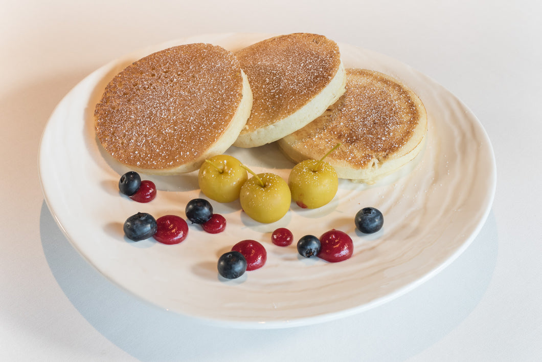 Pancakes (Available from 7:30 to 10:30am)