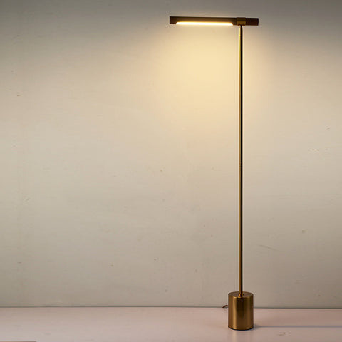 wood floor lamp tall