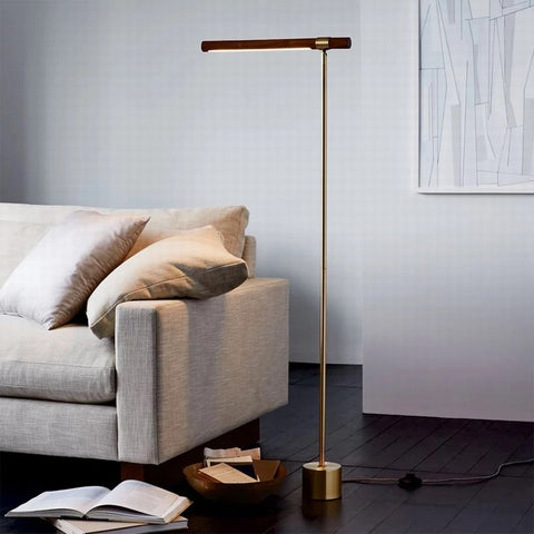 wood floor lamps for living room bright lighting