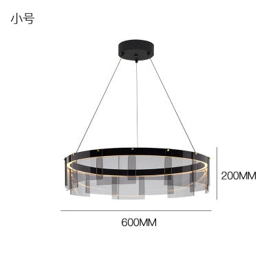 Contemporary Stratos LED Chandelier