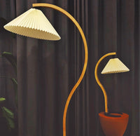 Caprani Bentwood Table Lamp & Floor Lamp