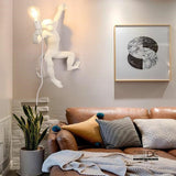 Hanging Monkey Wall Light
