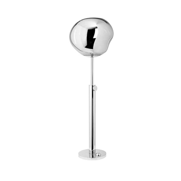 Melt Chrome Floor Lamp