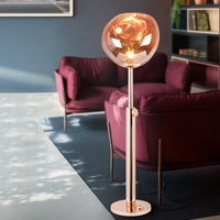 Melt  Floor Lamp Rose Gold