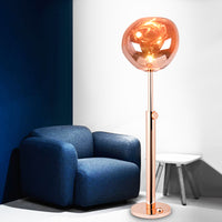 Melt Rose Gold Floor Lamp