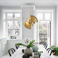 Modern Multi-Lite Pendant Light