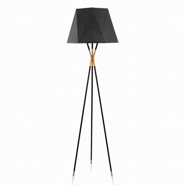Modern Tripod Floor Lamp Black