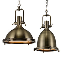 Nautical Industrial Pendant Light