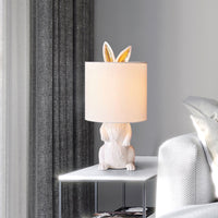Resin Rabbit Table Lamp