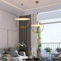 Float Geometric LED Chandelier